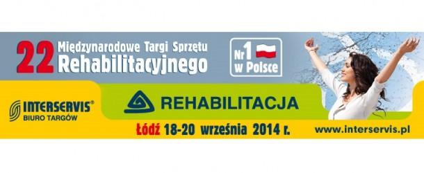 Targi REHABILITACJA 18-20 września w Łodzi
