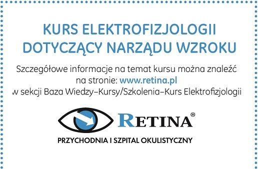 Kurs elektrofizjologii dotyczący narządu wzroku