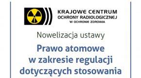 Nowelizacja ustawy – Prawo atomowe w zakresie regulacji dotyczących stosowania promieniowania jonizującego w medycynie